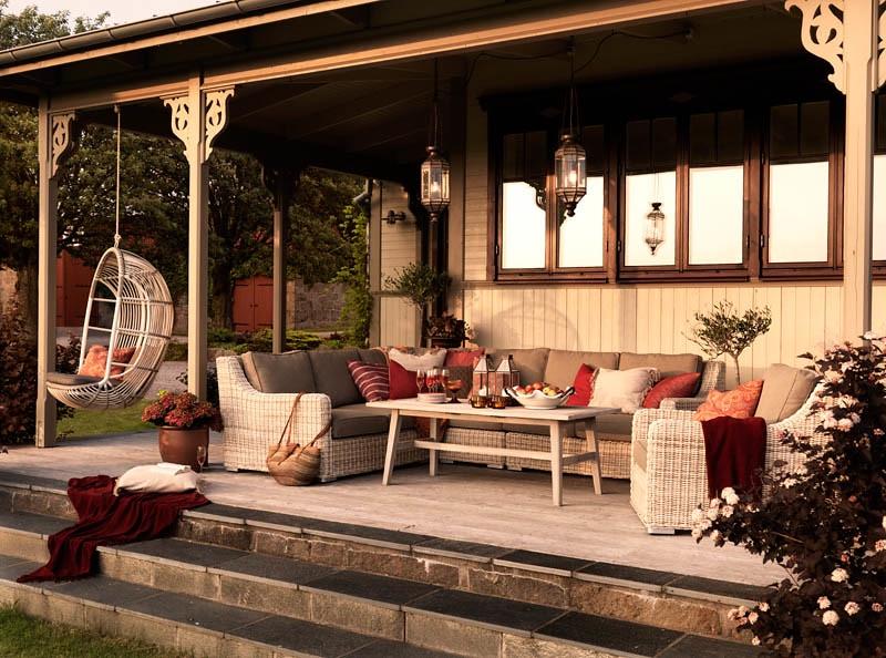 Loungesæt til haven. køb loungesæt nu   hurtig levering